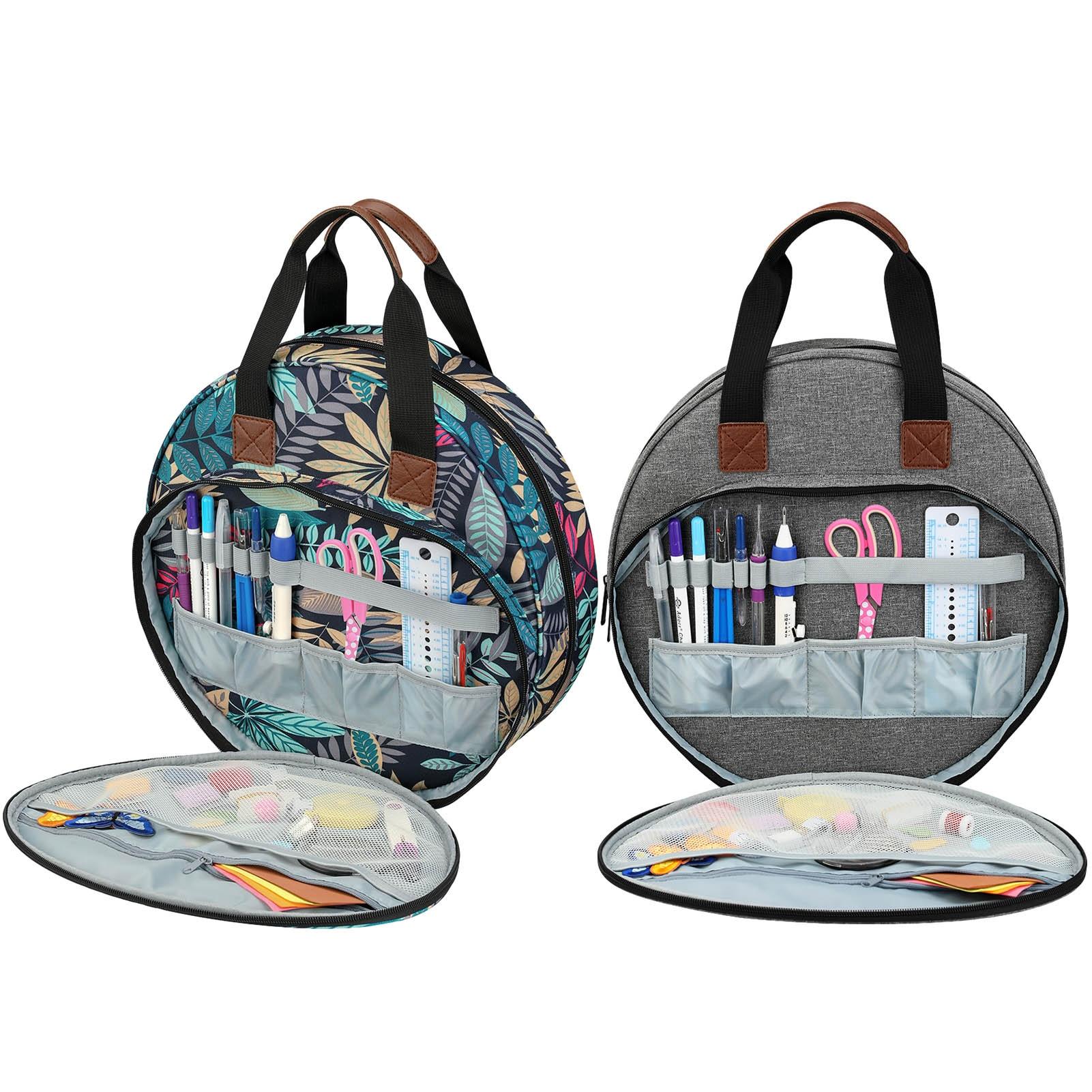 Сумка для хранения инструментов для вышивки «сделай сам», Набор для вышивки крестиком, прочная Портативная сумка для хранения вышивки, орга...