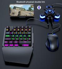 PUBG Mobile Gamepad Wired/ Wireless Controller Gaming Keyboard Mouse Converter For Android ios Phone to PC Bluetooth 4.0 Adapter new x1 battledock gaming trigger bluetooth gamepad keyboard mouse converter station for fps mobile games pubg mouse keyboard