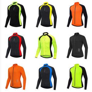 Image 2 - WOSAWE Autumn Cycling Jerseys Men Bicycle Sportswear Breathable Cycle Downhill MTB Reflective Long Sleeve Clothing Bike Shirts