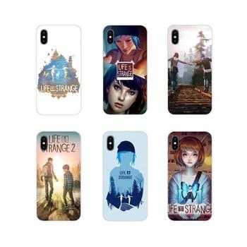 Max Caulfield La vida es extraña 2 para Apple iPhone X XR XS MAX 4 4S 5 5S 5C iPhone 6 carcasa para teléfono móvil 6S 7 8 Plus ipod touch 5 6