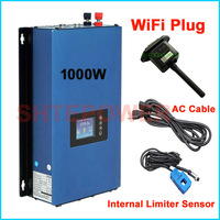 Solar 1000w Power on Grid Tie Inverter with new update Wifi Plug discharge working Model 45 90VDC convert to AC output