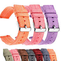 Watch Strap 22mm 20mm Nylon Watch Strap Quick Release For Samsung Galaxy Watchband 46mm 42mm for Gear S3 S2 Sport Watches band