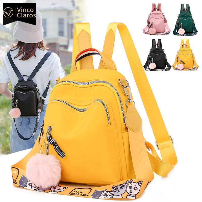 Small Women Backpack Mini Backpack Korean Fashion Bookbag High Quality Travel Oxford Back pack for Teenage Girl Mochila Feminina