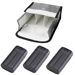 Image 4 - Mavic 미니 배터리 패키지 1/23 배터리 팩 보호 저장 가방 안전 가방 dji mavic 미니 액세서리 용 방폭 케이스