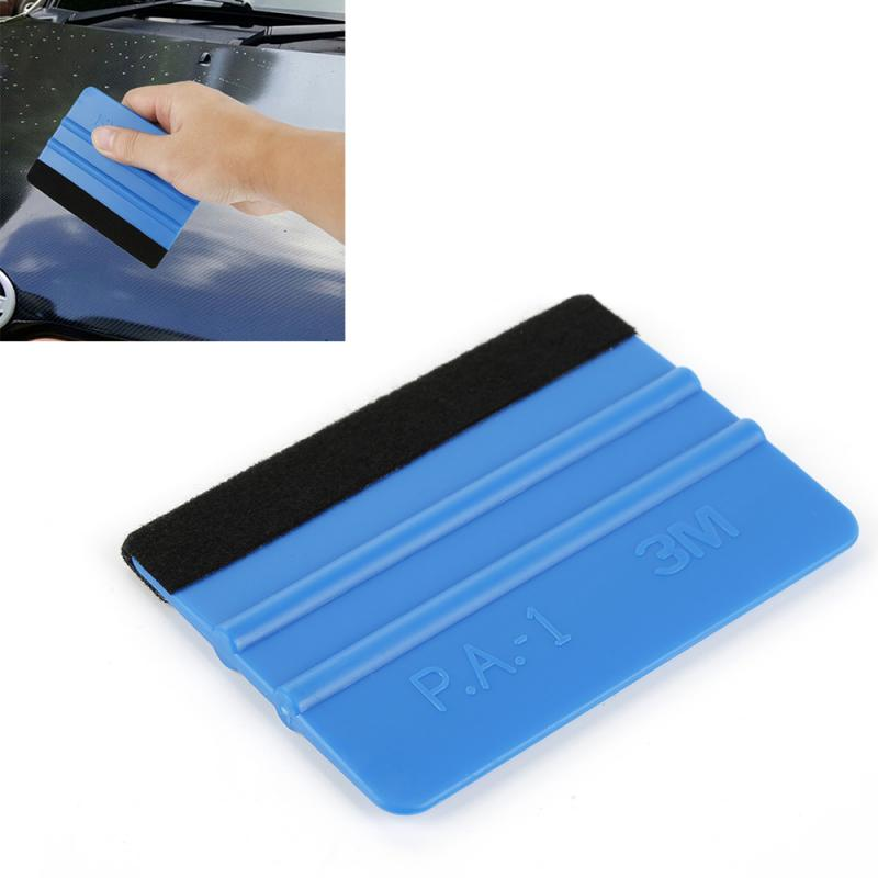 99*72mm Auto Products Vinyl Car Wrap Soft 99 Felt Edge Scraper Felt Squeegee Car Stickers Decal Wrap Applicator Cleaning Tools