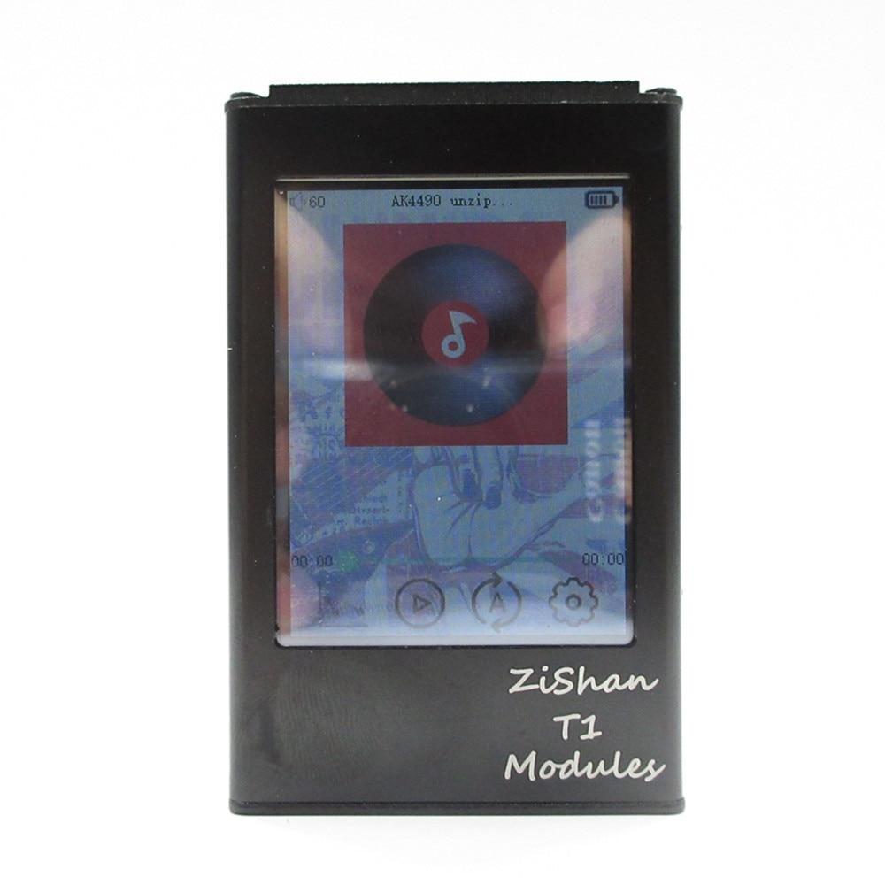 Zishan T1 AK4490 DSD 2.2 Inch MP3 Player Professional Lossless HiFi Protable MP3 Music Player Hard Solution Balanced Amplifier