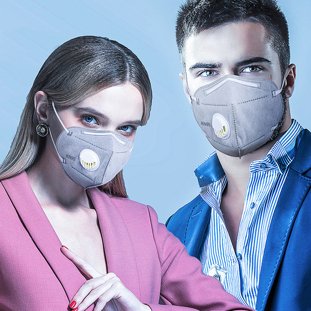 10PCS Reusable Mask Face Mouth Anti Dust Mask N95 Filter 6 Layers FFP3 Antivirus Flu Adult Mask Particulate Respirator PM2.5 2