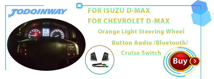 D-max steering wheel switch