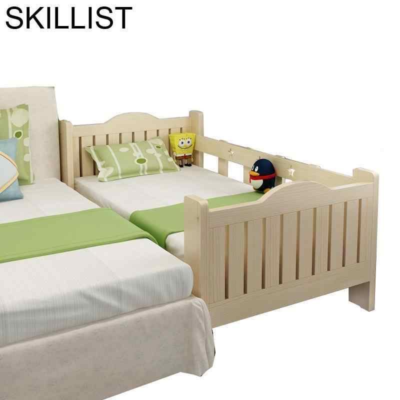 De Dormitorio litera Yatak Odasi Mobilya Baby Crib Wood Wooden Bedroom  Furniture Lit Enfant Muebles Cama Infantil Children Bed