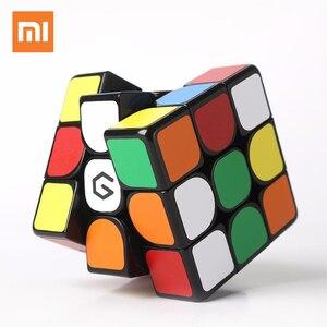 Image 2 - Original Xiaomi Mijia Giiker M3 Magnetic Cube 3x3x3 Vivid สีสแควร์เมจิก Cube ปริศนาวิทยาศาสตร์การศึกษาทำงานร่วมกับ giiker APP