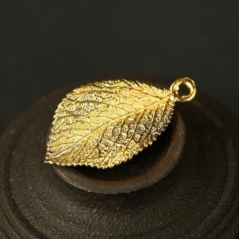 gold leaf charms (7)