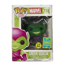 Funko pop marvel Зеленый Гоблин светится в темноте #110 Ограниченная