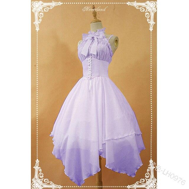 Фото милое платье принцессы в стиле «лолита» винтажное с бантом и цена