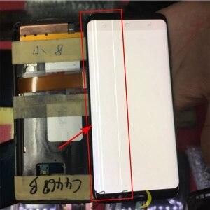 Image 4 - Do Samsung S9 wyświetlacz LCD dotykowy G960 G965 wyświetlacz LCD do Samsung S9 Plus wyświetlacz linii pasma LCD telefon komórkowy wadliwy ekran