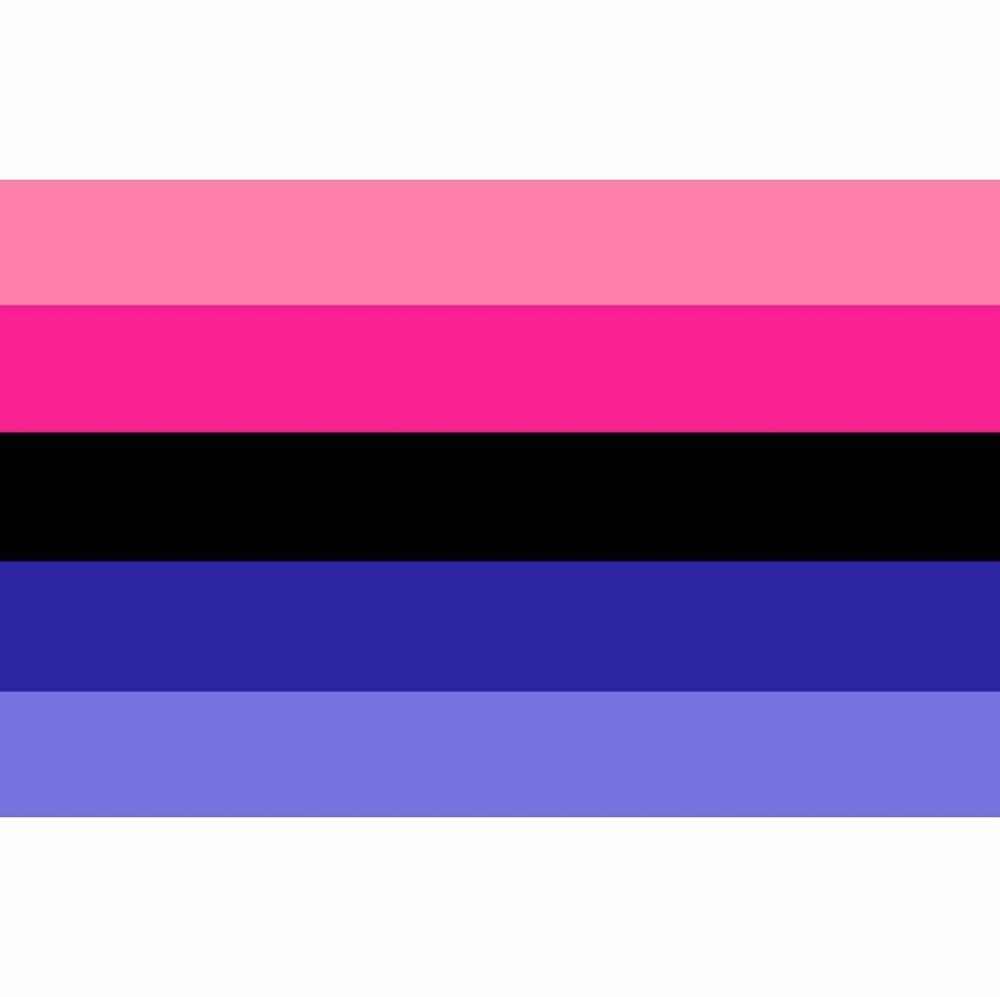 Гордость Радуга omnisexual флаг 90*150 см