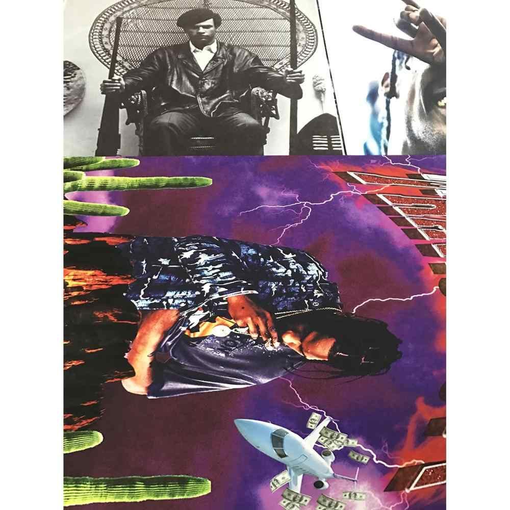 GX290 Zar Viso & MF Doom Incontra Metallo Viso Album di Pittura Poster Stampe Su Tela Immagine Della Parete Per La Casa Arredamento Della Camera