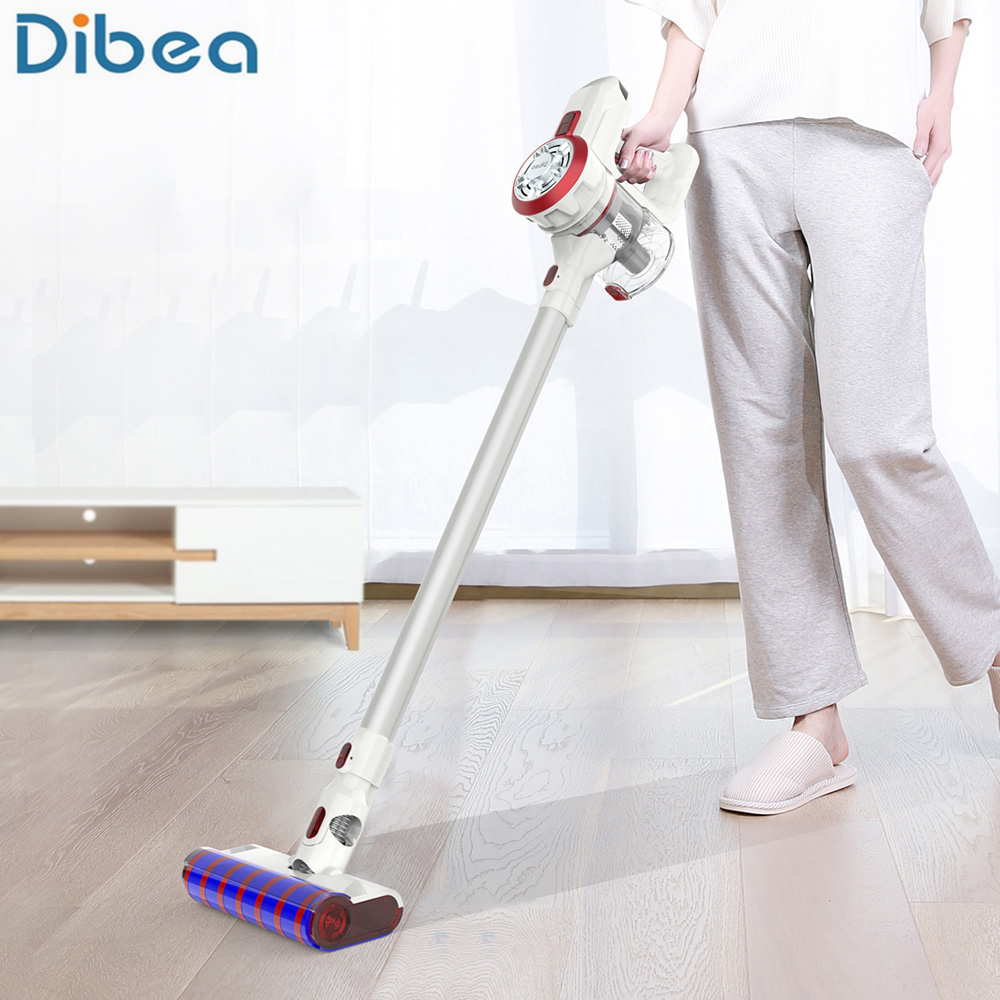Dibea V008 Pro 2-In-1 Handheld Wireless Vacuum Cleaner 17000Pa Strong Suction Vacuum Dust Cleaner Dust Collector Aspirator