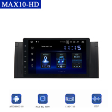 "9 ""Android 10.0 Multimedia Speler Voor Bmw E39 E53 X5 Auto Radio Dsp Head Unit Carplay Gps Navigator 4gb Ram 64Gb RomTDA7850"