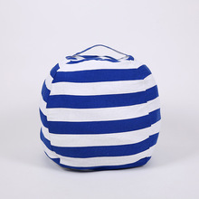 Lazy Waterproof Stuffed Animal Storage Bean Bag Oxford Chair Cover Zipper Beanbag Toys Soft Solid Causal Baby Seats Sofa free shipping baby bean bag cover with 2pcs golden up cover baby bean bag seat cover baby bean bag chair kids sofa lazy chair