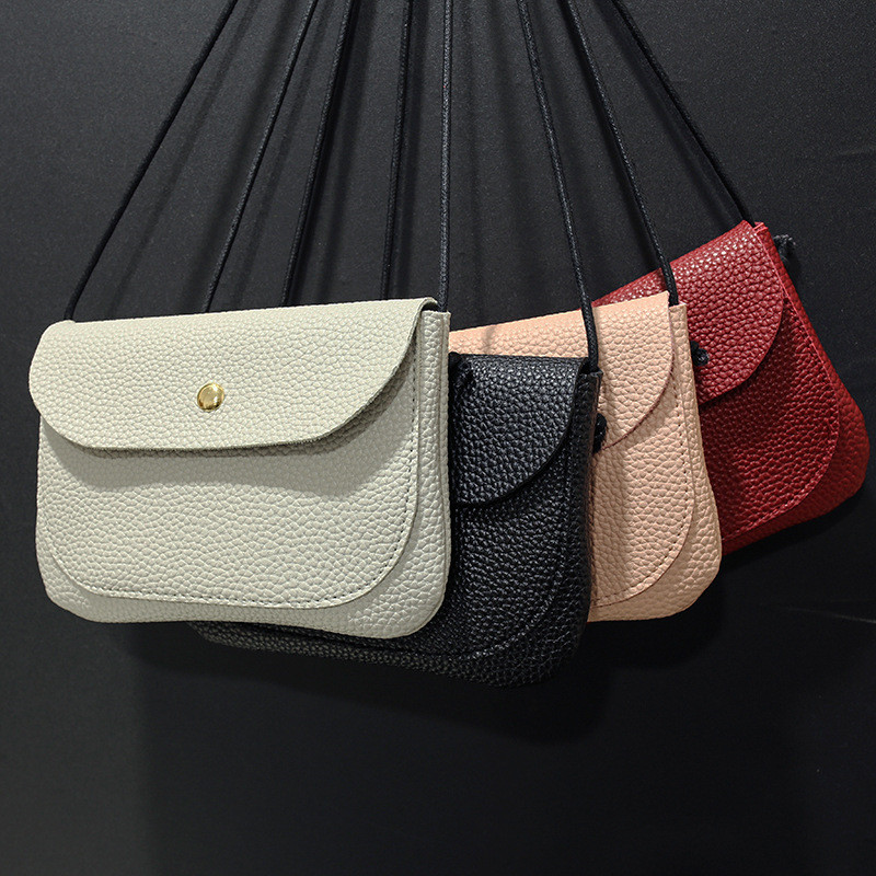 2019 Woman Fashion Bags Designer Mini PU Leather Bag  High Quality  Shoulder Messenger Shopping Bag bolso mujer