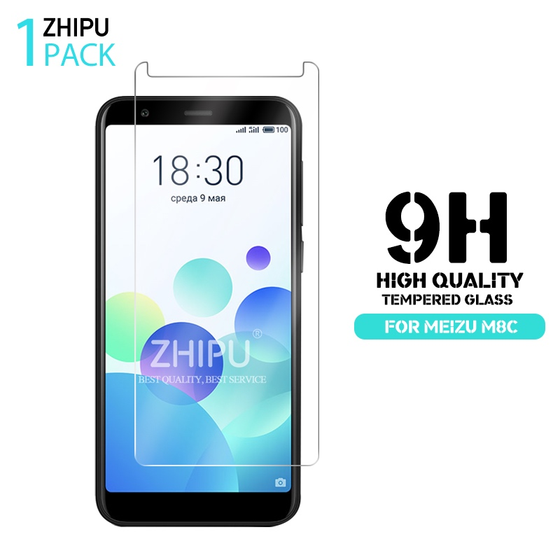 2.5D 0.26mm 9H Premium Tempered Glass For Meizu M8C 5.45