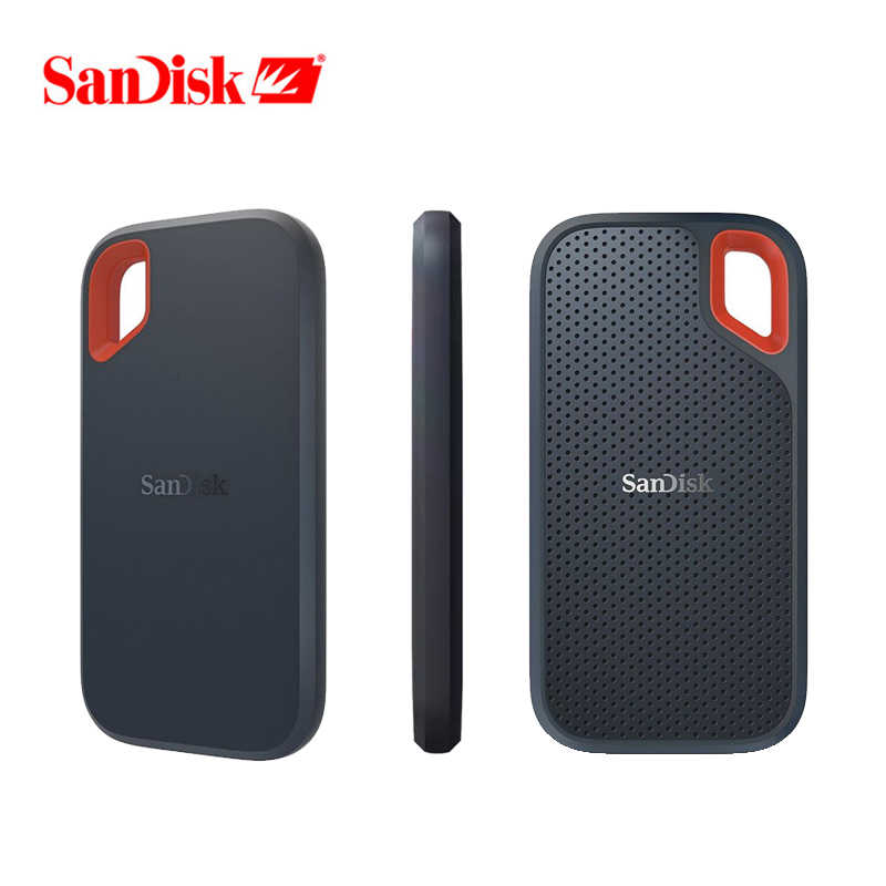 SanDisk Tipe-C Portable SSD 1TB 500GB 550M Eksternal Hard Drive SSD USB 3.1 HD SSD hard Drive 250GB Solid State Disk untuk Laptop