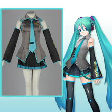 Anime Hatsune Miku Cosplay Costumes Costume Uniforms Halloween Carnival Party Game Women