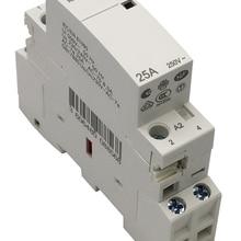 CT 2P 25A 220V/230V 50/60HZ Din rail Household ac contactor 2NO or 1NO 1NC