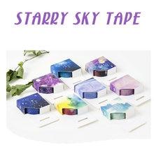 Серия sky stars и бумажная лента Красивая Ручная учетная запись