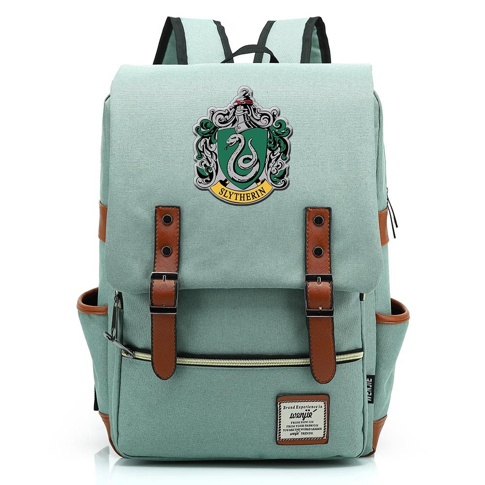 Gift Fashion Magic School Snake Lion Eagle Buckle Children School Bag Teenagers Student Schoolbags Women Bagpack Men Backpack