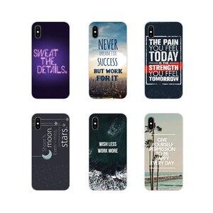 Аксессуары, чехлы для телефонов Xiaomi Redmi 4A S2 Note 3 3S 4 4X 5 Plus 6 7 6A Pro Pocophone F1, мотивация