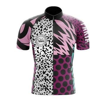 Paria-maillot de Manga corta para ciclismo, camiseta transpirable para ciclismo de montaña...