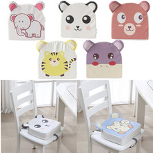 Seat-Cushion Booster-Pad High-Chair Baby Kids with Safety-Buckle for Toddler Detachable-Sponge