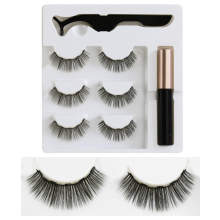 Magnetic Eyeliner Eyelashes Kit 3D & Liquid with False Lashes Eyelash Curler Falses