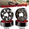 8 Pcs Skateboard Wheels Ceramic Skateboard Bearing For Skates 608 Hybrid Ceramic Ball And Roller Skate Bearings