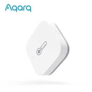 Image 2 - Aqara casa inteligente sensor de umidade temperatura detectar pressão atmosférica sem fio zigbee trabalho com homekit mijia app