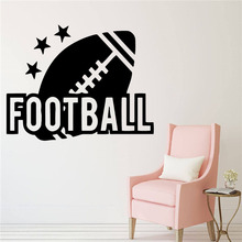 American Football Decal Vinyl Wall Stickers For Living Room Decals Decoration Kids Room Sticker Hot Sale Home Decor