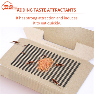 Image 4 - 10Pcs/lot Cockroach Killer Insect Trap Strong Sticky Catcher Traps Environmental Insect Pest Repeller Roach Cucarachas Trap