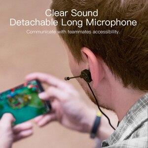 Image 2 - Ggmm g1 fone de ouvido graves profundos gaming fone com destacável longo mic gaming fones de som claro para pubg celular pc gamer
