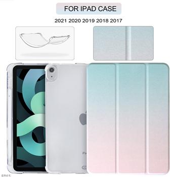 Piórniki do Pro 12 9 2021 etui iPad Pro 11 etui 2020 Air 4 etui 10 2 iPad 8 generacji etui Mini 5 10 5 9 7 5 6 Etui tanie i dobre opinie EGYAL Powłoka ochronna skóry CN (pochodzenie) For ipad pro 11 pro 12 9 air 4 10 2 9 7 mini 5 rainbow 6 6inch Dla apple ipad