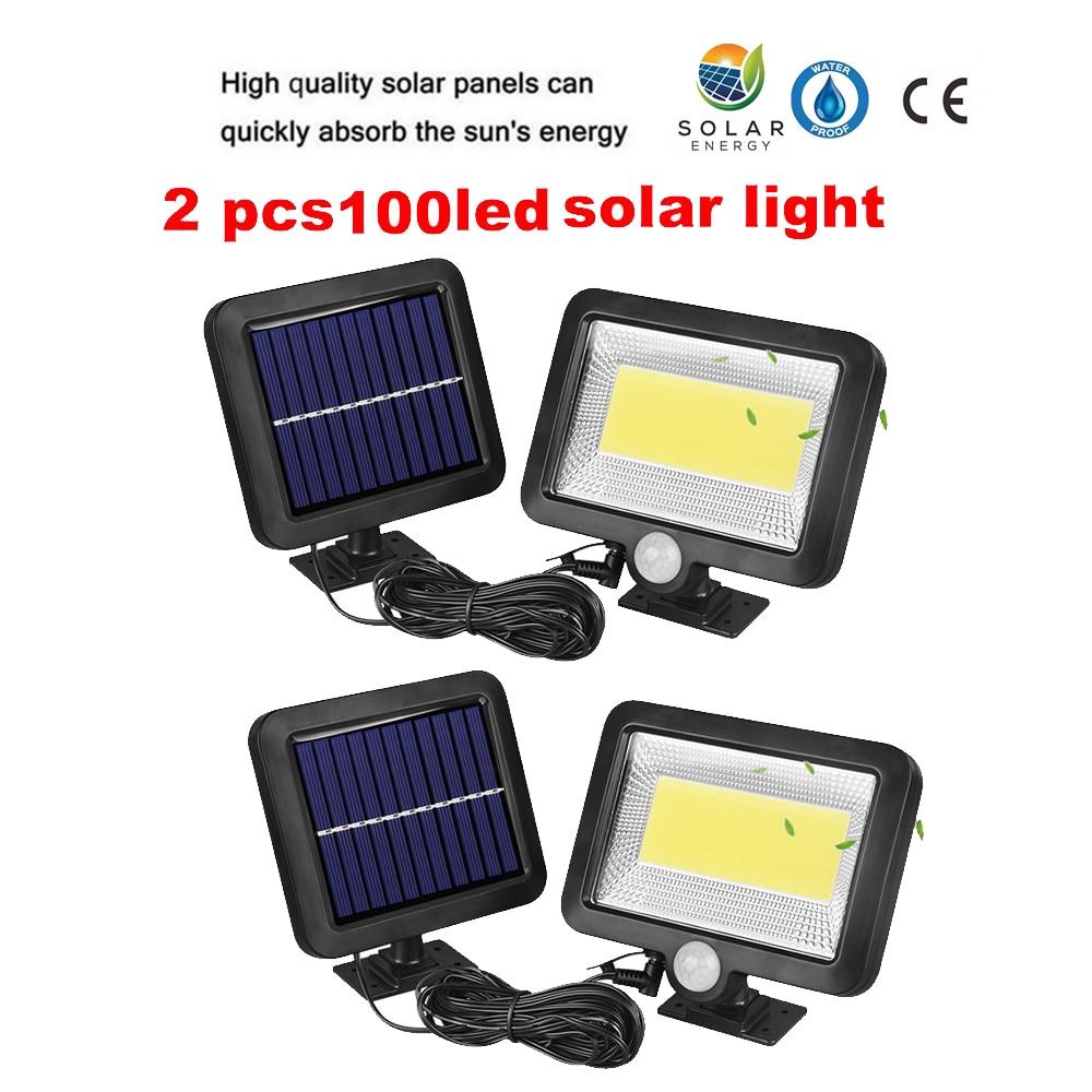 2/4pcs Solar Powered Panel LED Spot Light Landscape Outdoor Garden Path Lawn Lamp Street Lights Solar Yard Decoratoin Lights Lum