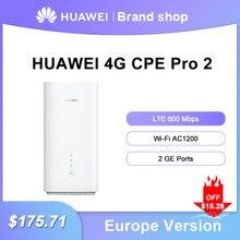 Desbloqueado 4G WiFi Router con tarjeta Sim Huawei 4G CPE Pro 2 B628-265 LTE Cat12 hasta 600Mbps 2,4G 5G AC1200 Lte WIFI Router