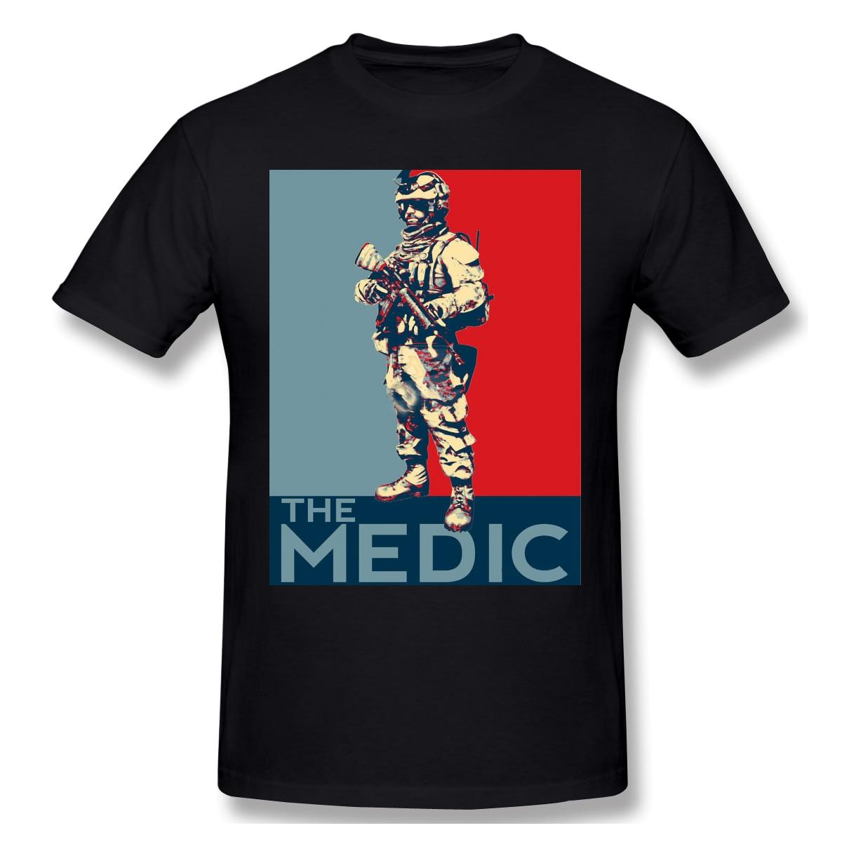 Nouveau T-Shirt d'été Battlefield 3 Medic T-Shirt coton Battlefield ofertas T-Shirt