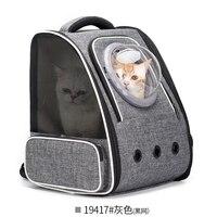Shoulder Pack Carrier Pouch Cat Carrying Large Space Dog Backpack Transparent Pet Bag Pies Akcesoria Backpack Carrier QJJ60GXD
