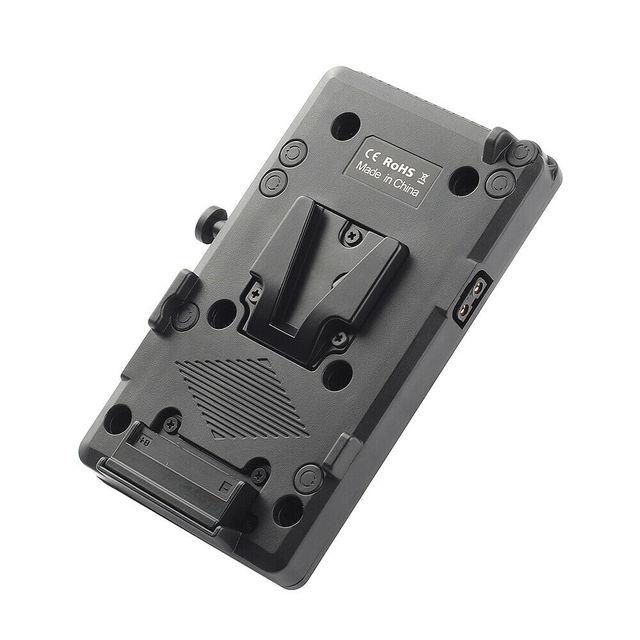 BP Battery Back Pack Adapter V lock Mount Plate for Sony D Tap DSLR Rig External
