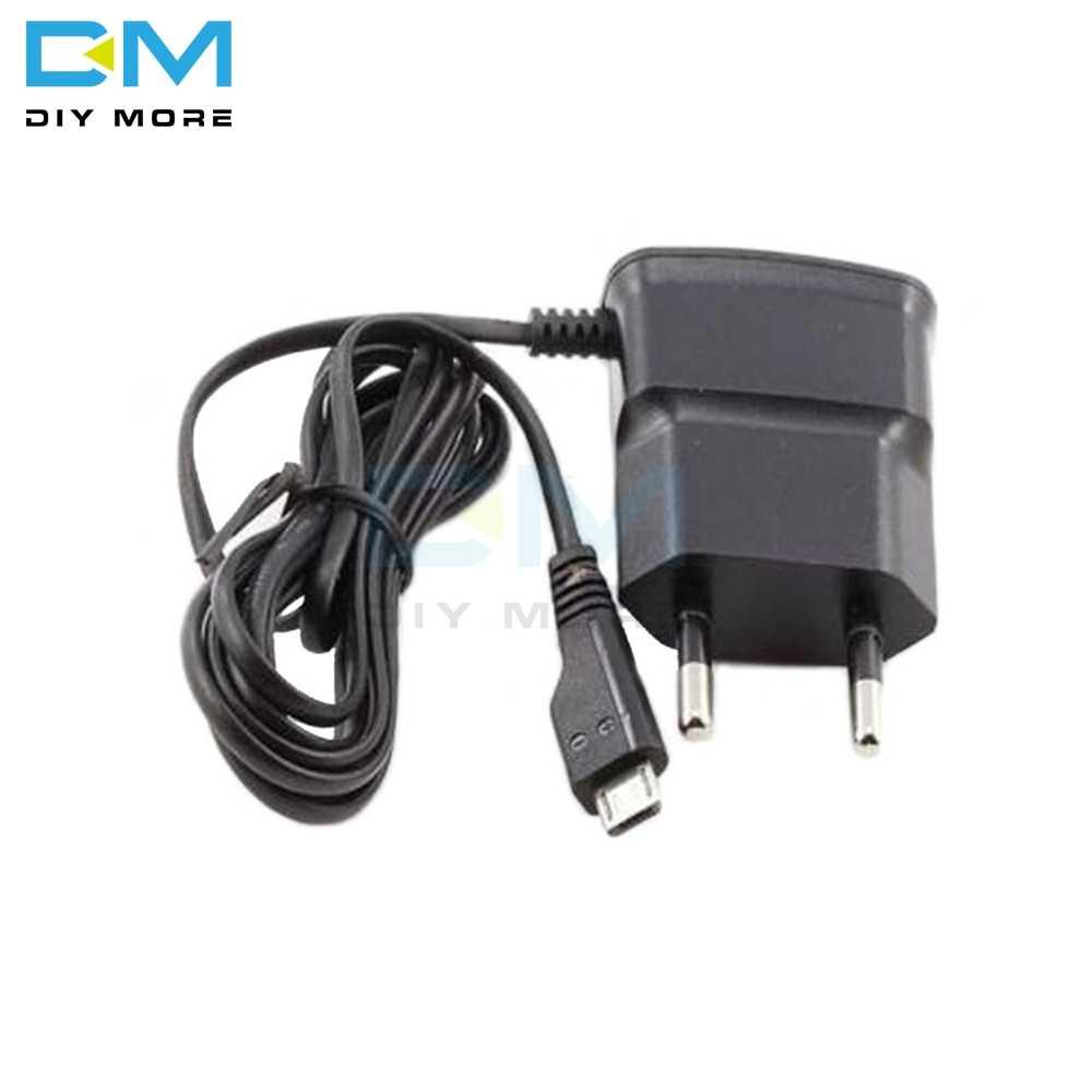 EU プラグ 5V 高速充電マイクロ USB 充電器アダプタ Htc 、 Lg 、ソニー携帯電話 70 センチメートルケーブル