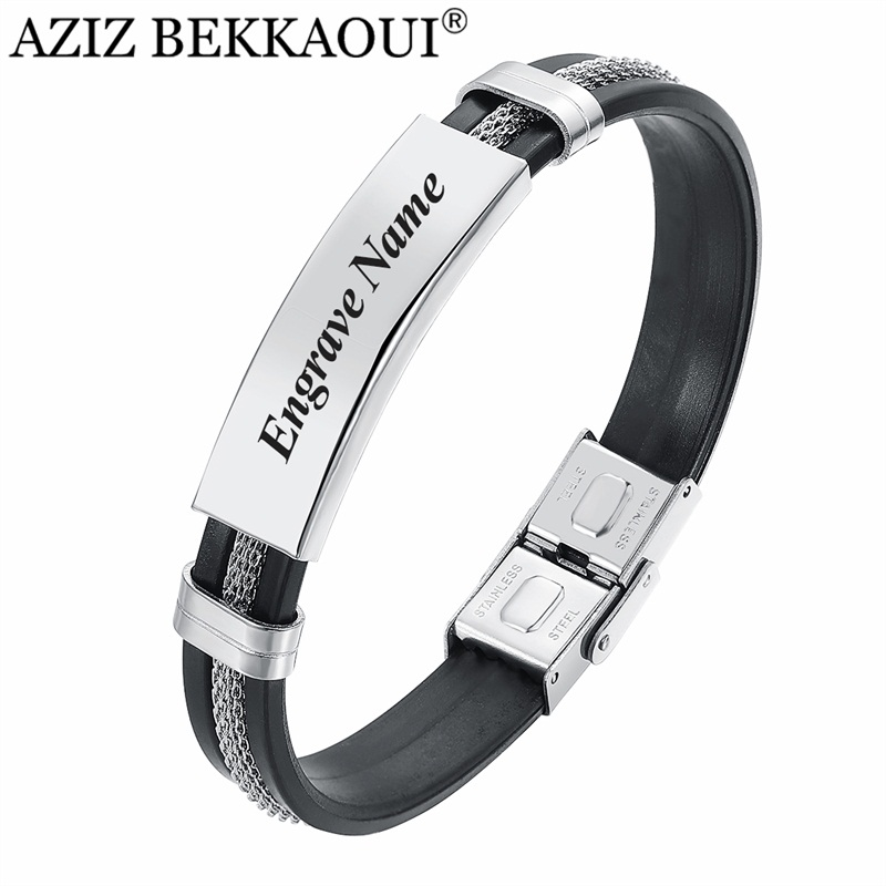 Special Offers Stainless Steel Chain Insert Bracelet Brands And Get Free Shipping A884