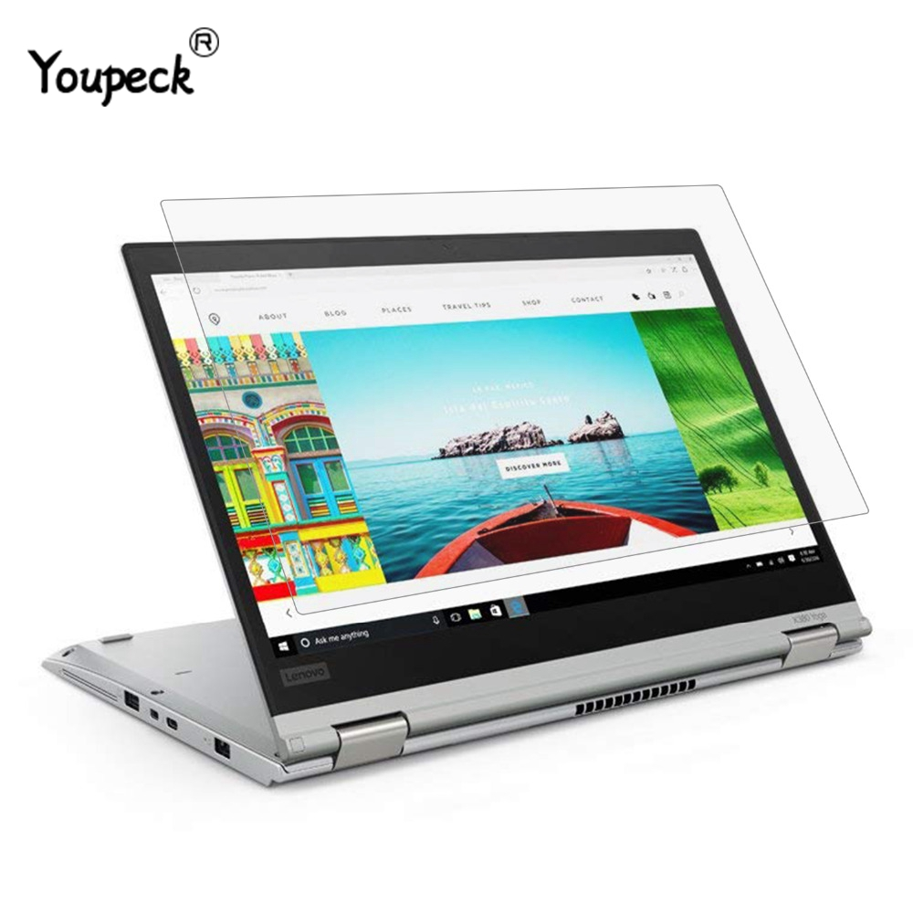 YOUPECK 13.3 Inch Laptop Screen Protector For Lenovo ThinkPad X380 X370 Yoga Notebook Universal HD Crystal Guard Film 2PCS