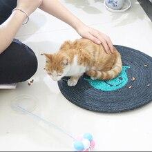 1pcs Dietamer Pet 39cm kitten cat Pad scraper toy  claw board toys sitter training Toys