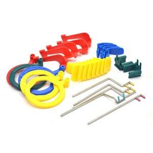 1set Dental X-Ray Film Positioning System Dental Lab X ray Position Kit Positioner Holder Locator Dentist tools Instrument(China)